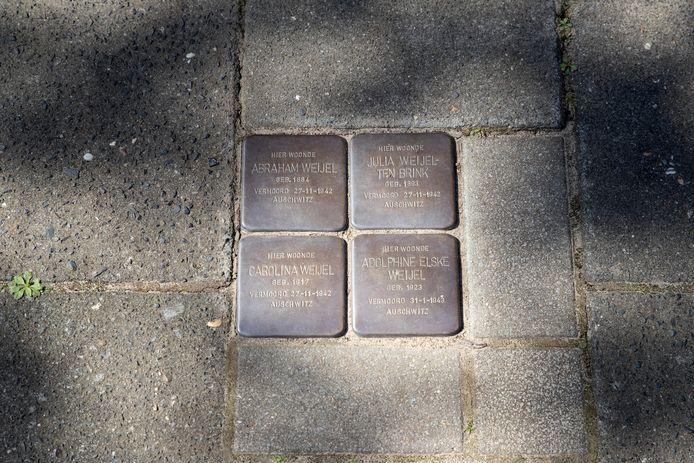 Stolpersteine in Zutphen.