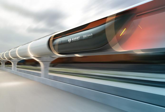 De hyperloop.