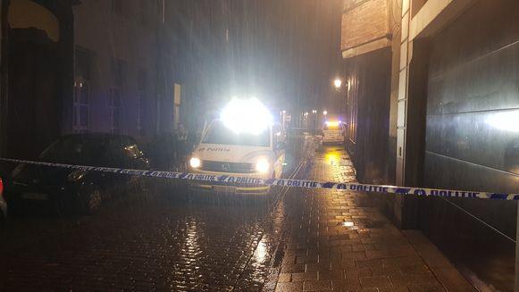 Het incident deed zich voor in de Antwerpse Raapstraat aan de Stadswaag.