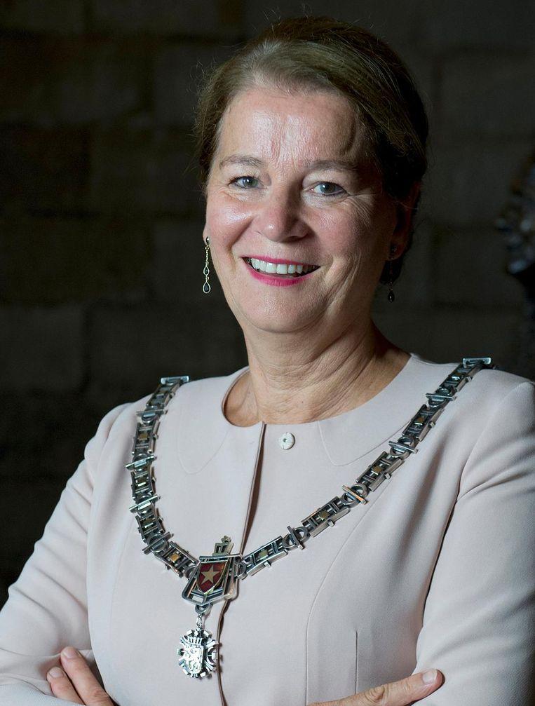 Annemarie Penn-te Strake, de partijloze burgemeester van Maastricht Beeld anp