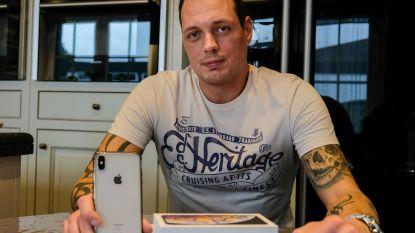 """Wil Dimitry bellen met nieuwe iPhone, moet hij naar het buitenland: """"Al 2 maanden van kastje naar de muur gestuurd"""""""