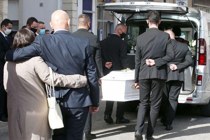 De begrafenis van Victorine