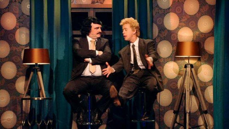 Ivan Pecnik en Jonas Van Geel als Gaston en Leo