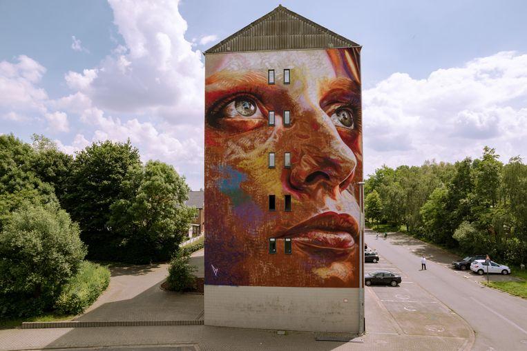 Een voorbeeld van een werk van David Walker.