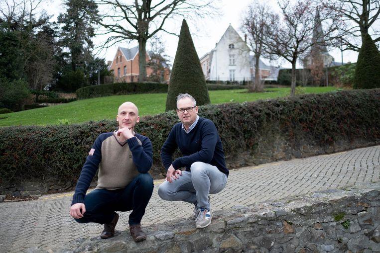 Nick De Groof en Bart Smolders vormen samen GodZijDrank.