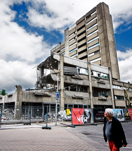 Oude betonnen kolos maakt plaats voor gloednieuwe appartementen