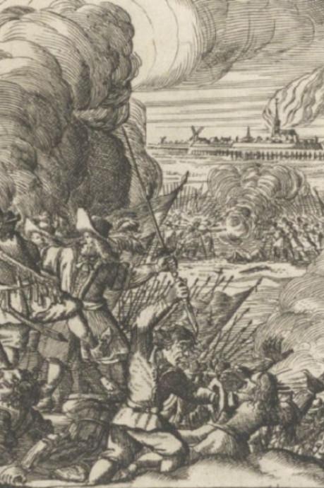 Toen in Woerden: bij deze bloederige slag in 1672 vielen honderden doden