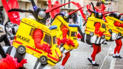 IN BEELD. Geen taboes op carnaval: lachen met stadsbestuur