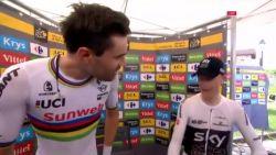 """Organisatie maakt er zootje van op moment dat ritwinnaar Dumoulin finisht: """"Iedereen zei me dat ik tweede was"""", ASO komt met opmerkelijke verklaring"""