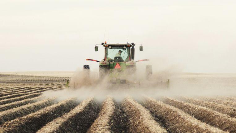 Tractors zijn tegenwoordig uitgerust met de modernste technologie. Beeld thinkstock