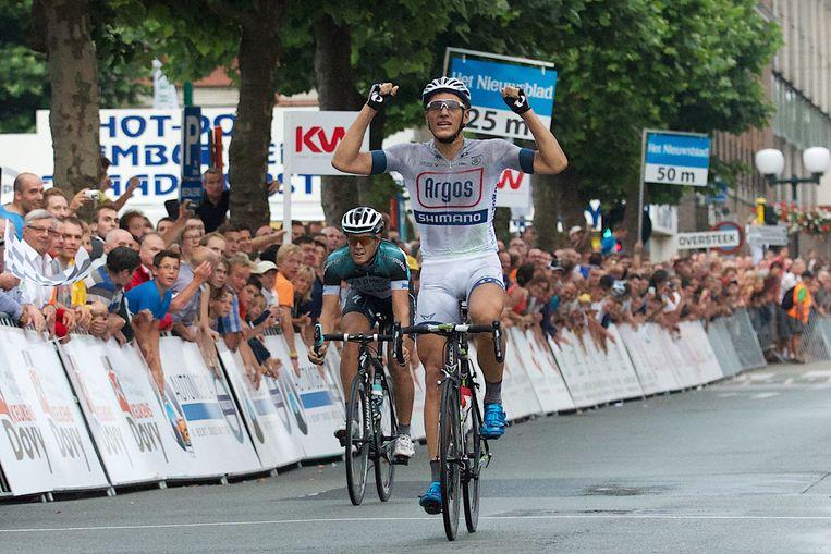 Vorig jaar kwam Marcel Kittel als eerste over de streep.