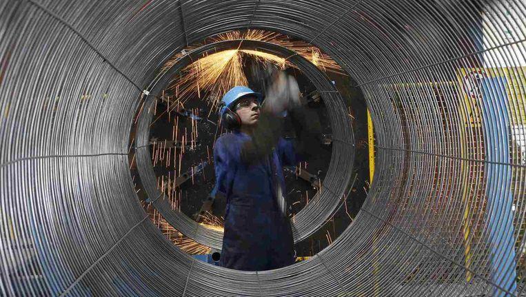 Archiefbeeld van eerdere werken voor de Nord Stream pijpleiding.