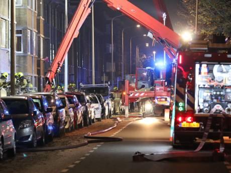 21 woningen ontruimd na brand in appartement Soestdijksekade