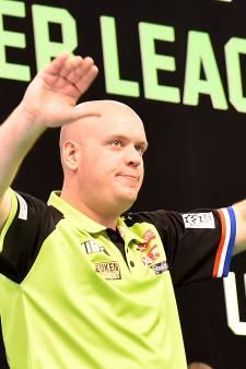 Darter Van Gerwen neemt wraak op King