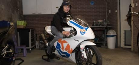 Rio (13) uit Harderwijk wil motorcoureur Valentino Rossi achterna, maar komt één ding tekort: 'Het is nu of nooit'