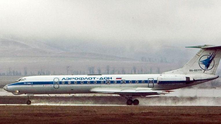 Archieffoto van een Toepolev- 134 waar onlangs weer een exemplaar van neerstortte. Beeld anp