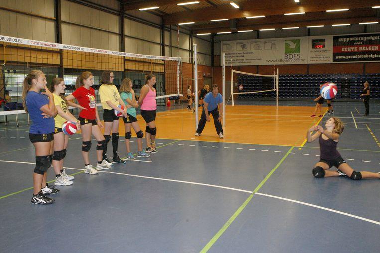 De sportclubs uit Diest stellen hun sport voor tijdens het evenement.