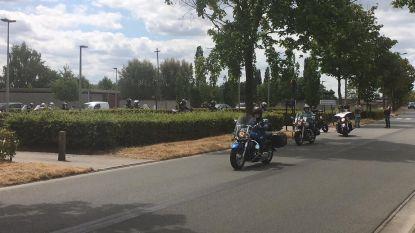 Motorrijders eren verongelukte Jan Demeyere (64)