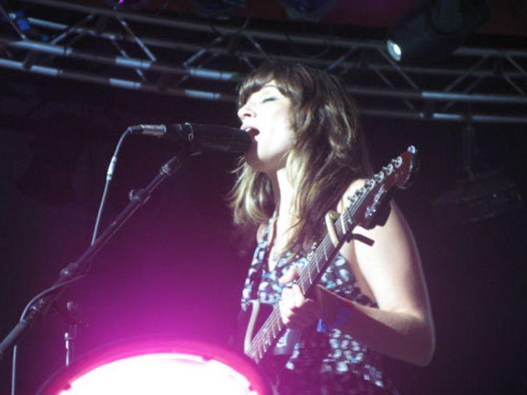 Nicole Atkins in de Astoria tent op het Roskilde Festival Beeld