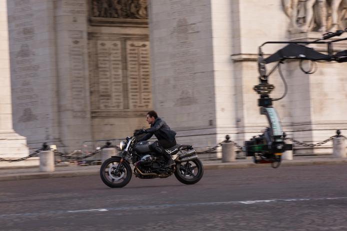 Ook een motorfiets van BMW wordt ingezet in Mission: Impossible - Fallout