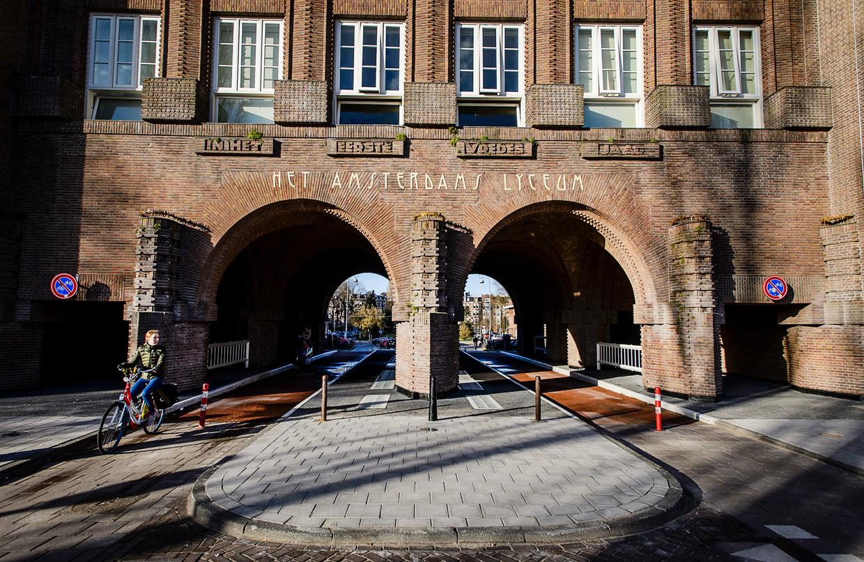 Het Amsterdams Lyceum. Beeld ANP