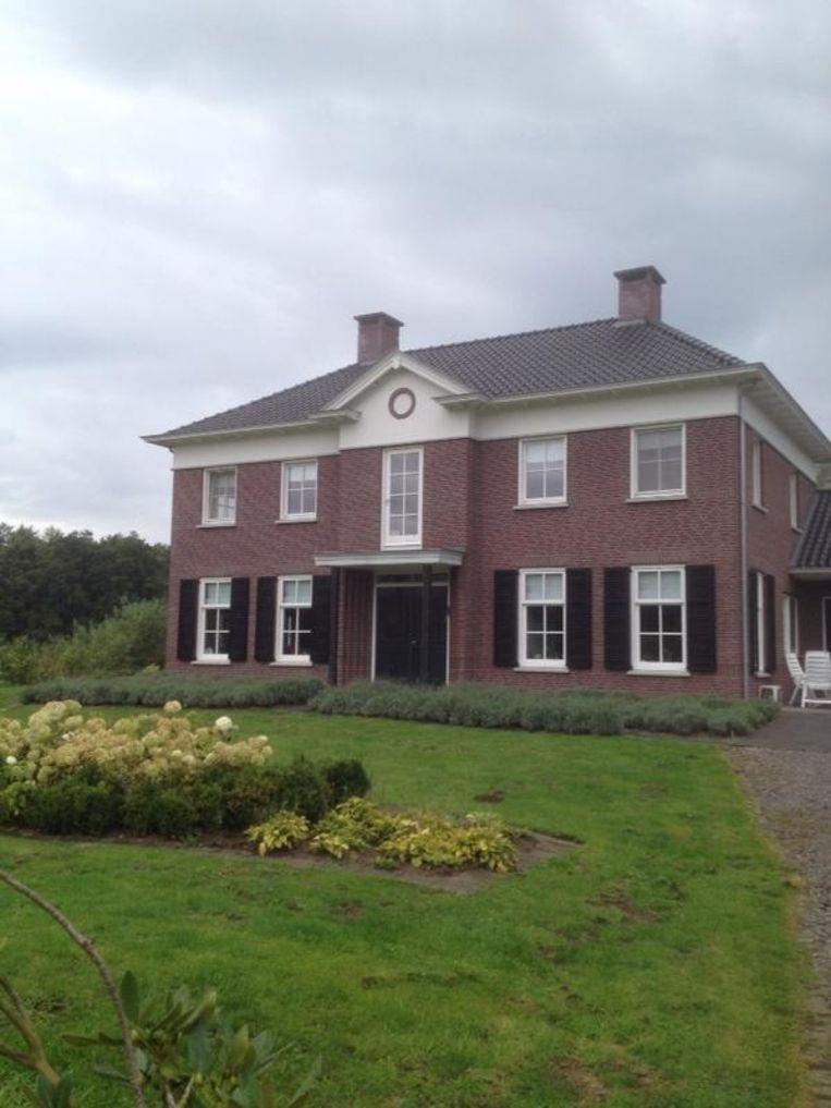 Landhuis onder water Beeld