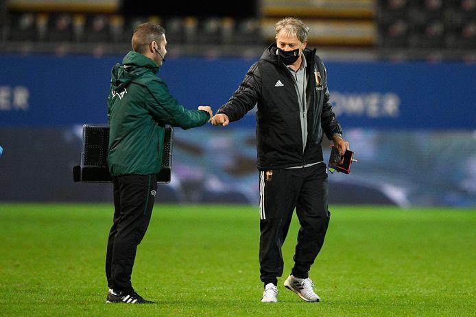 Jacky Mathijssen, coach van de U21