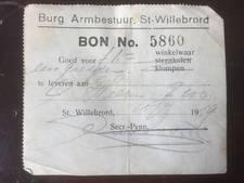 Eigenaar Rucphense galerie vindt voedselbonnen uit 1939