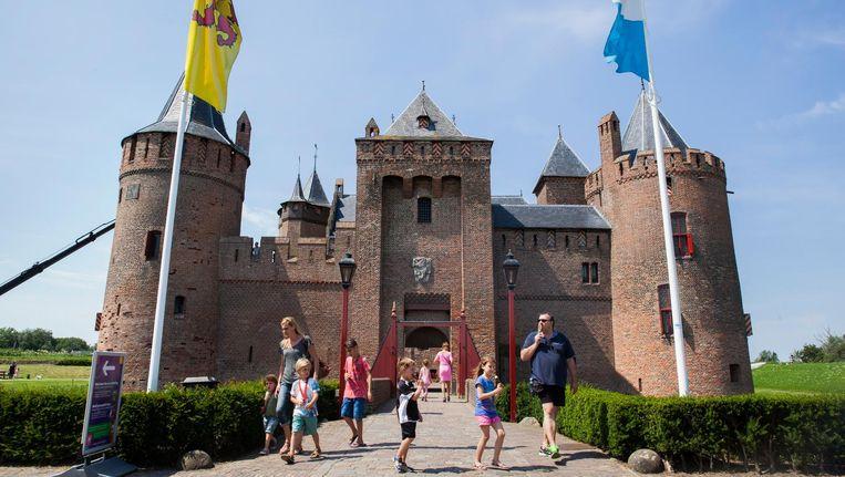 Het tot Amsterdam Castle omgedoopte Muiderslot, 2016. Beeld Aurélie Geurts