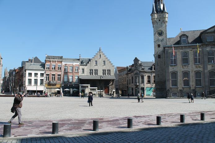 De Grote Markt in Lier.