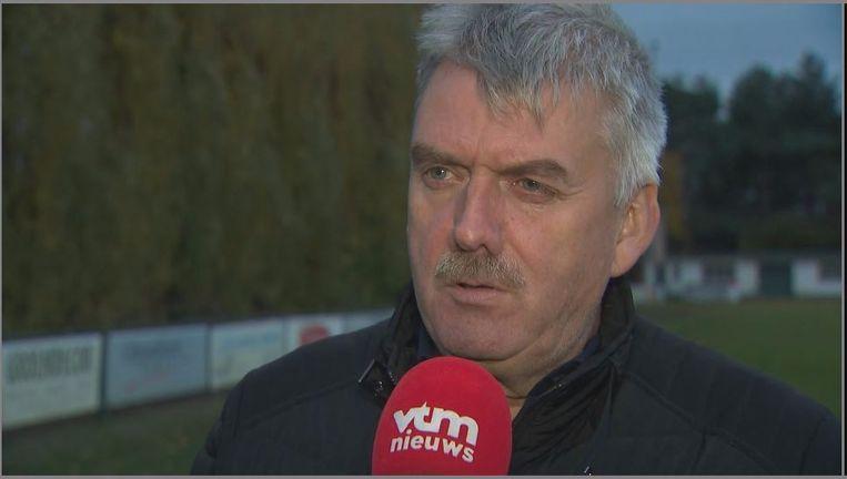 Uittredend burgemeester van Zelzate Frank Bruggeman.