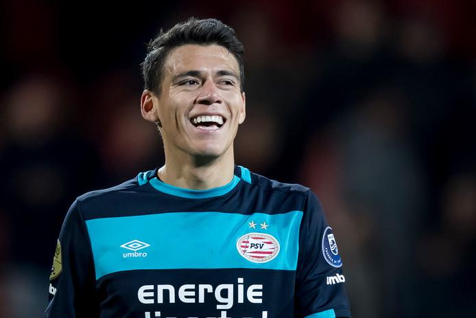 Héctor Moreno verhuisde eerder deze maand naar AS Roma.