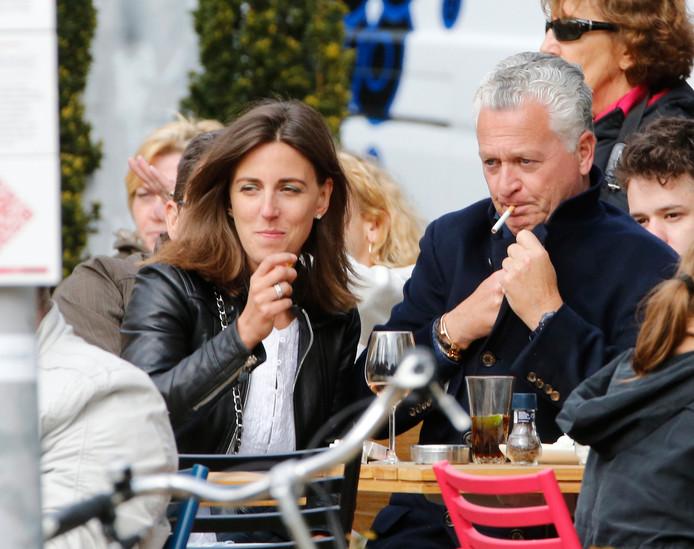 Bram Moszkowicz en zijn vriendin, advocaat Nienke Hoogervorst, waar hij tegenwoordig bij werkt.