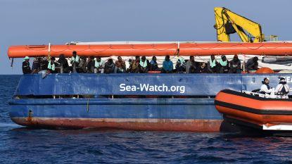 """EHRM: """"Italië moet migranten op reddingsschip zo snel mogelijk zorg en voeding aanbieden"""""""
