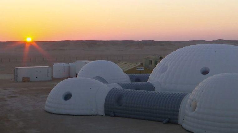 Het Lege Kwartier in het Arabisch Schiereiland is een van de droogste gebieden op aarde, met omstandigheden die lijken op die van Mars.