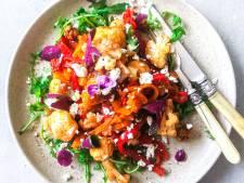 Wat Eten We Vandaag: Bloemkoolsalade met feta en walnoten