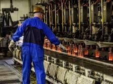 Rottende scherven brengen geluk bij glasfabriek Ardagh in Dongen