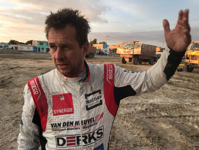 Maurik van den Heuvel uit Boekel had al snel pech in de zevende etappe.