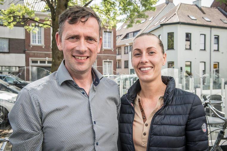 Stefanie Labis en Emmanuel Desimpel willen een modern familiepark voor kinderen tot acht jaar inrichten op het terrein van Aviflora.