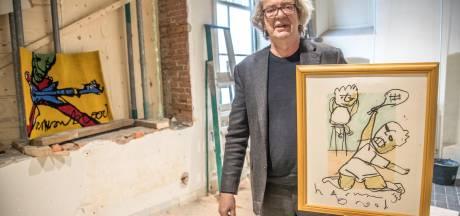 Johan Derksen op de bres voor Zwols Herman Brood Museum