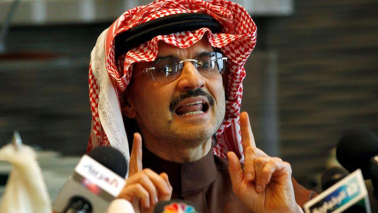 De Saoedische prins Alwaleed bin Talal. Beeld null