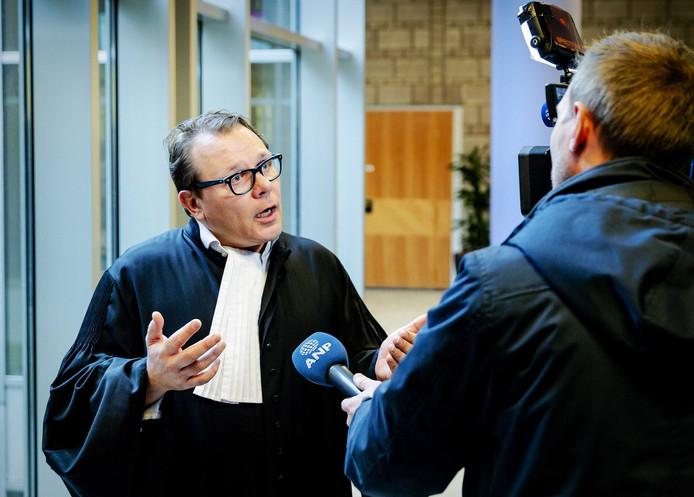 Advocaat Andre Seebregts, raadsman van de vrouwelijke Syriëgangers.