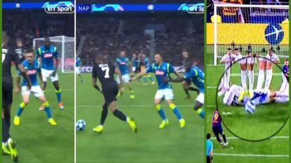 Hilarische manier om Mbappé af te stoppen en inventieve truc om vrije trap Suarez te verdedigen: dit is verdedigen op Champions League-niveau
