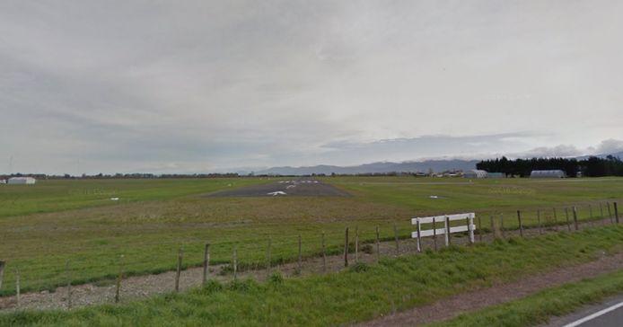 Het Hood Aerodrome nabij Masterton, Nieuw-Zeeland.