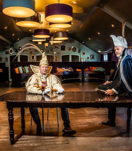 Luc en Rien zijn prins carnaval in lastige tijd: 'Mijn prinses heeft corona opgelopen'