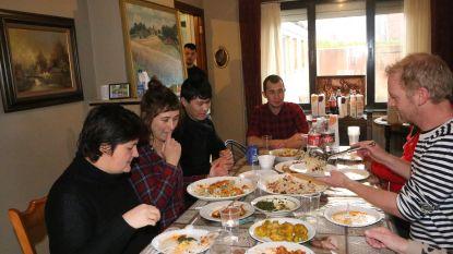 Ali kookte voor Afghaanse vriend