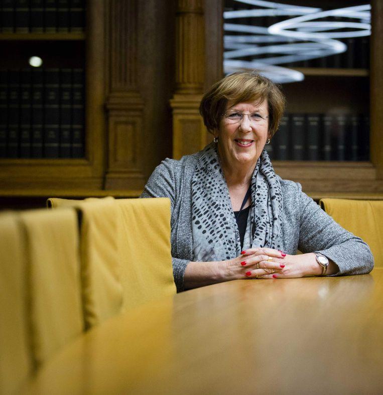 Annemarie Jorritsma (VVD): 'We gaan op dezelfde voet door, ook als we geen meerderheid meer hebben.' Beeld Bart Maat/ANP