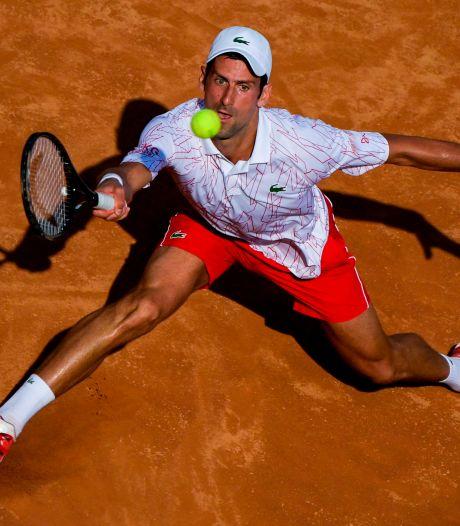 Djokovic naar kwartfinales in Rome na zege op landgenoot Krajinovic