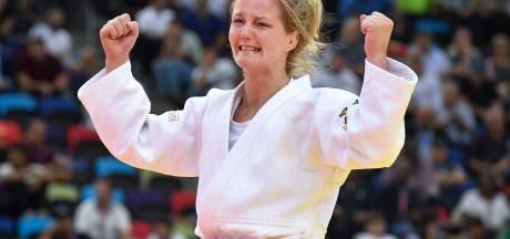 Juul Franssen in tranen na brons op WK