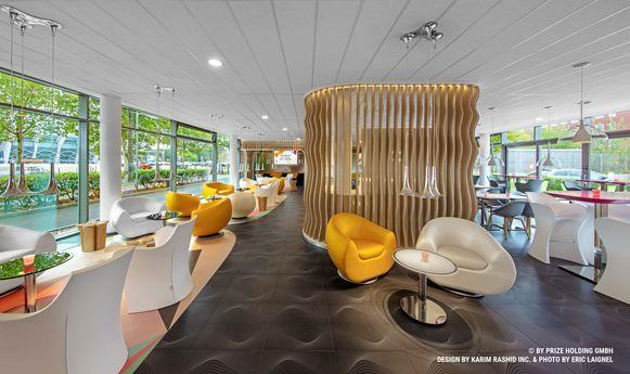 Designhotel Eilandje in Antwerpen.